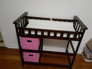 Baby changing table for Sale in McDonough, GA