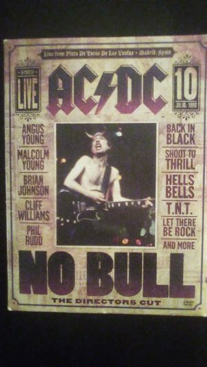 ACDC No Bull DVD for Sale in Port Orchard, WA
