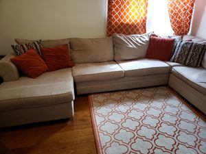 5 piece sectional including sofa bed for Sale for sale  Union City, NJ