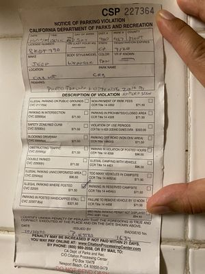 Help Pay Parking Ticket for Sale in San Jose, CA
