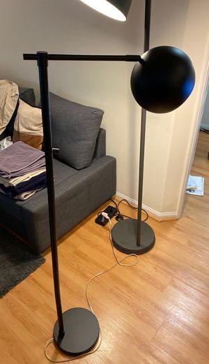 Black Floor Lamp (Round) for Sale in Los Angeles, CA