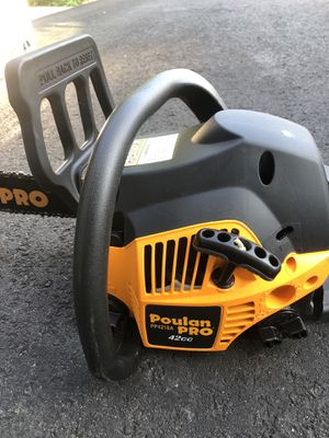 """Poulan Pro PP4218 Chainsaw 18"""" for Sale in Stoughton, MA"""