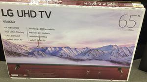 LG 65UK6090 NEW IN OPEN BOX 3 MONTHS WARRANTY for Sale in Lilburn, GA
