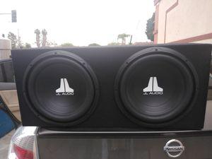 JL Audio 12 inch speakers for Sale in North Tustin, CA