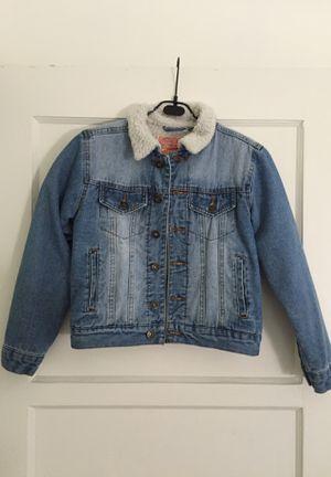 -Brooklyn Cloth- Sherpa Collar Denim Jacket (kids) for Sale in Los Angeles, CA