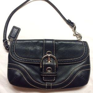 Coach Leather Wristlet Clutch for Sale in Nashville, TN