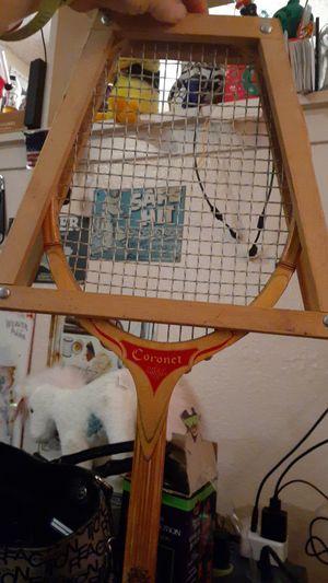 Vintage Coronet Tennis/ Badminton Racket for Sale in Las Vegas, NV