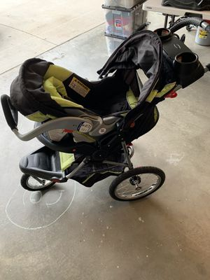 Baby stroller jogger with carrier for Sale in Ontario, CA