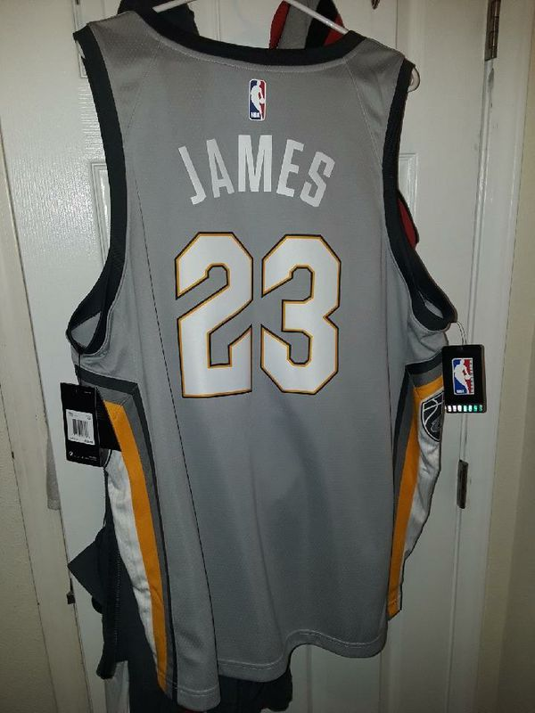 Authentic Lebron james city edtion jersey size 2XL