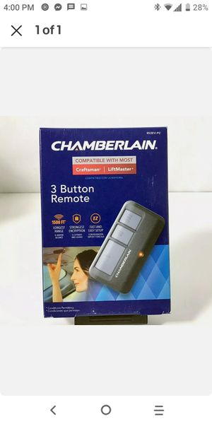 Garage door remote! Comparable with Craftsman and liftmaster for Sale in Menifee, CA