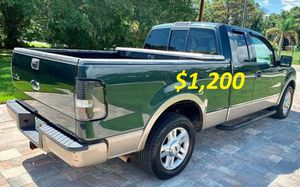 🟢💲1,2OO For sale URGENTLY this Beautiful 2004 Ford Lariat nice Family truck 4-Door Runs and drives very smooth🟢 .... for Sale in Vancouver, WA