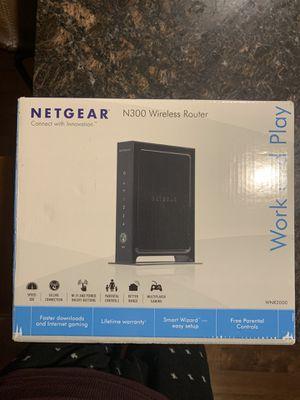 Netgear N300 Wireless Router for Sale in Lynnwood, WA