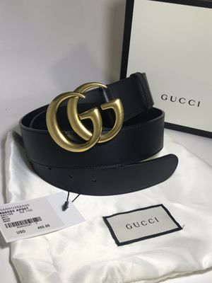 Gucci Brass GG Belt 1.5 Inch **Authentic for Sale in Queens, NY