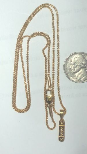 """Brand new 26"""" necklace with Xanax charm for Sale in Lawndale, CA"""