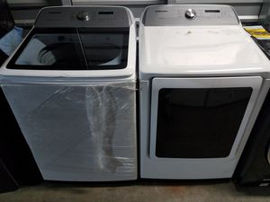 new open box samsung washer gas dryer for Sale in Tustin, CA
