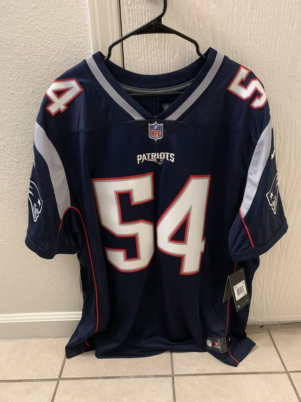 New England Patriots Nike Navy Vapor Limited Jersey - Dont'a Hightower - XXL (New, NWT, Never Worn)