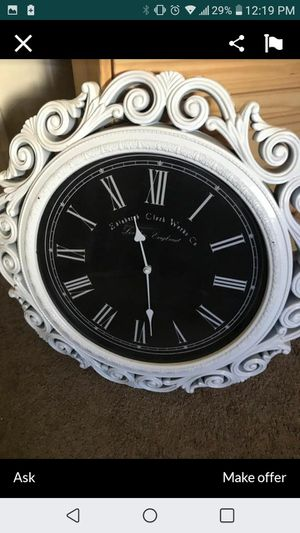 Antique clock very nice for Sale in Tustin, CA