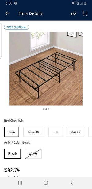 Twin bed frame for Sale in Citrus Heights, CA