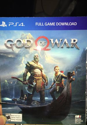 God Of War PS4 for Sale in Waseca, MN