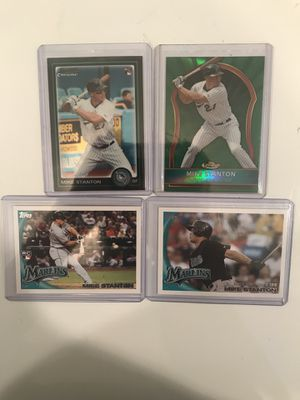 Baseball Card, Giancarlo Stanton Rookie lot for Sale in Bingham Canyon, UT