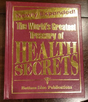 The world's Greatest Treasury of Health Secrets for Sale in Bakersfield, CA