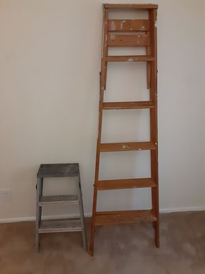 Lot of 2 A frame ladders for Sale in Evesham Township, NJ