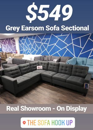 Grey Earsom Couch Sofa Sectional for Sale in Los Angeles, CA