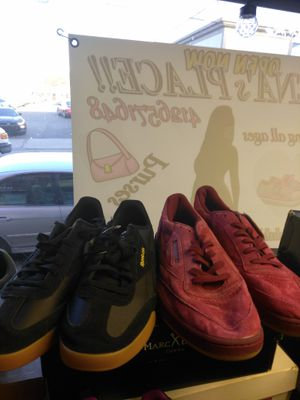 Black Reebok's size 11, maroon Reebok's size 13 shoes are $50 a pair new with tags for Sale in Pittsburgh, PA
