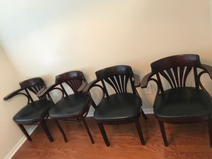 Dining chairs with arms for Sale in Nashville, TN