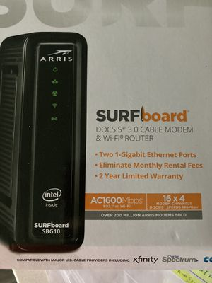 Arris cable modem and WiFi for Sale in Omaha, NE