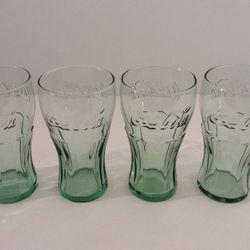 4 Vintage Coca-Cola Glasses for Sale in Mount Hamilton,  CA