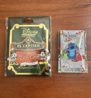 Disney Dssh Dsf Loviest trading event exclusive stitch and Mickey/ Minnie Marquee for Sale in Los Angeles, CA