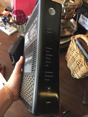 AT&T WiFi's cable modem and router combo for Sale in San Diego, CA