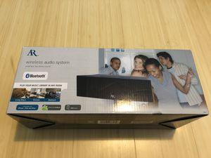 AR Wireless Audio System Bluetooth Speaker for Sale in Mercer Island, WA