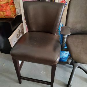Brown Leather Bar Stool for Sale in Dallas, TX