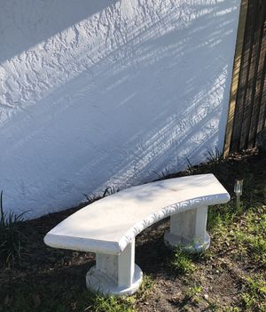 Concrete Bench for Sale in Clearwater Beach, FL