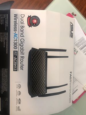 Asus router wireless for Sale in Las Vegas, NV
