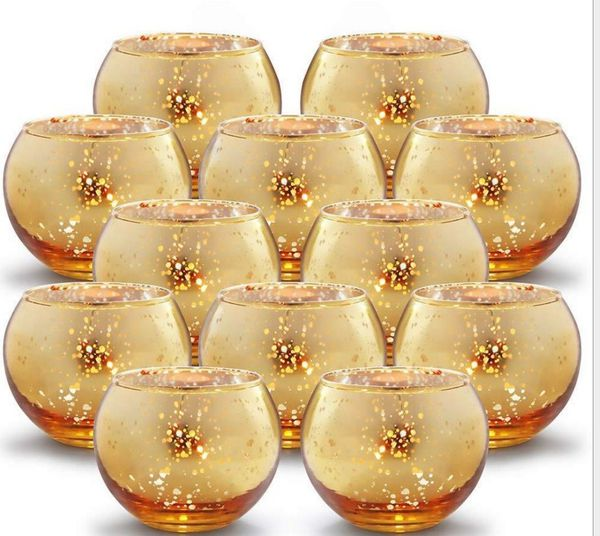Votive Candle holder for wedding and party 12 pcs