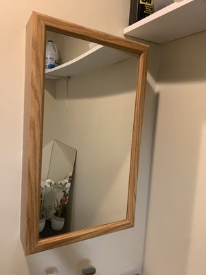 Mirror and gabinet for Sale in Chapel Hill, NC