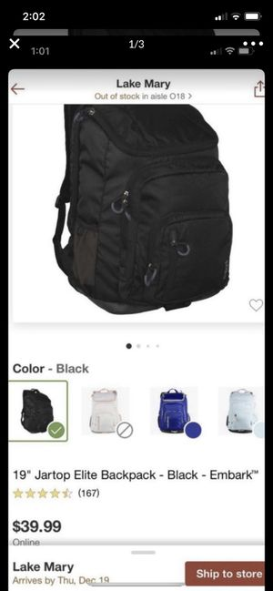 Backpack embark (Brand New) for Sale in Lake Mary, FL