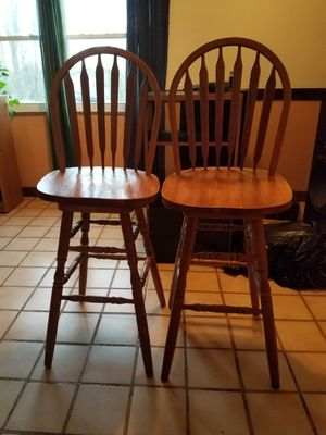 Wooden stools for Sale in Columbia Station, OH