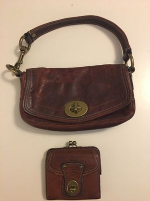 Matching coach wallet and handbag! for Sale in Los Angeles, CA