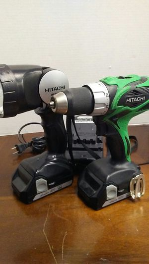 Hitachi Drill Set for Sale in Brownsville, TX