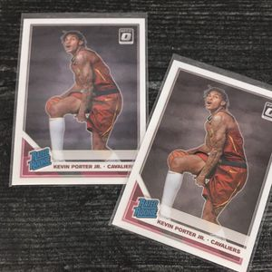 Donruss Optic Kevin Porter Jr. 2pc Rookie Card Lot for Sale in Colorado Springs, CO