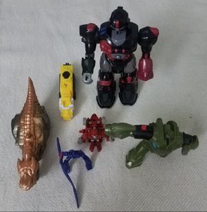 Transformers Robot Toys Lot of 6 for Sale in San Francisco, CA