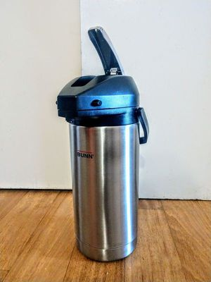 BUNN 36725.0000 3.8-Liter Lever-Action Airpot, Stainless Steel for Sale in Revere, MA