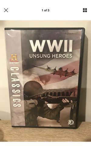 WWII heroes history channel classics for Sale in Dulles, VA