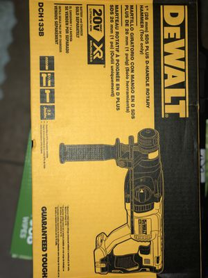 DeWalt SDS rotary hammer brand new $160 (tool only) for Sale in Las Vegas, NV