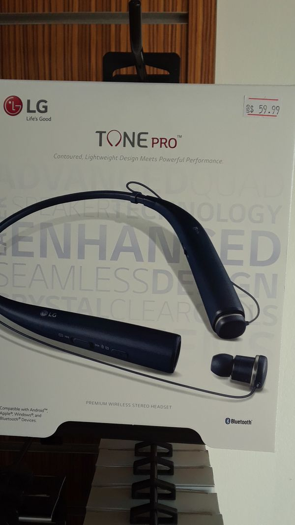 LG TONE PRO BLUETOOTH WIRELESS HEADSET