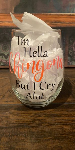 Personalized wine tumblers for Sale in Pasco, WA